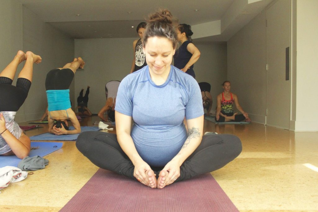 Pregnant Women Can and Do Practice Ashtanga