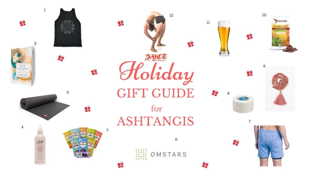Holiday Gift Guide for Ashtangis