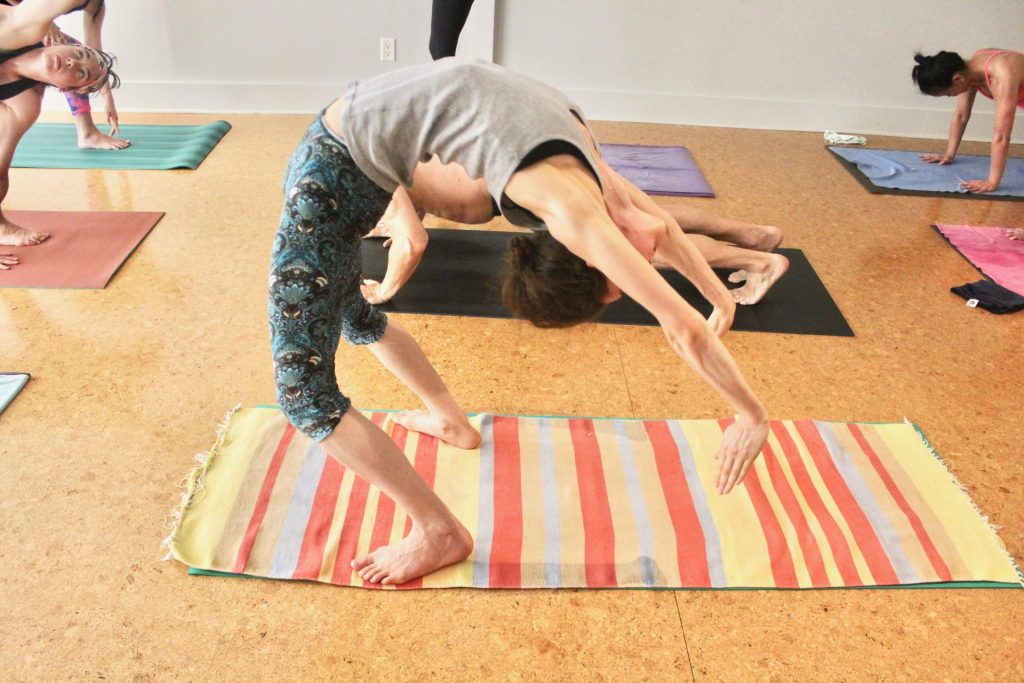Standing Up – The Trials of Urdhva Dhanurasana by Sarah Teitel